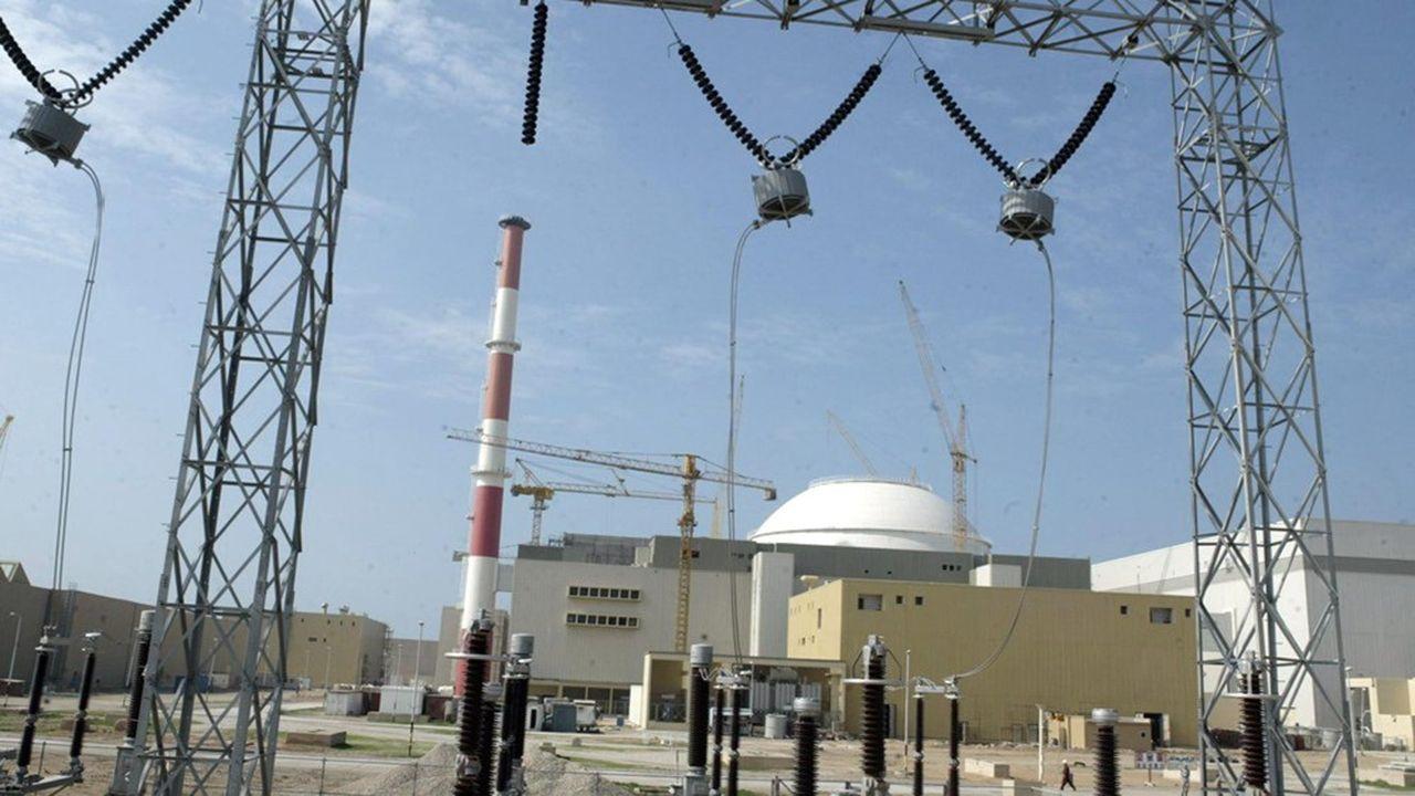 La centrale nucléaire de Bouchehr, dans le sud de l'Iran, symbolise les ambitions du pays dans le nucléaire civil depuis son inauguration en 2005.