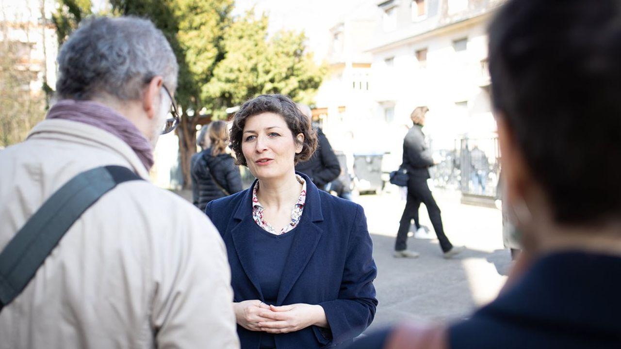 L'écologiste Jeanne Barseghian a viré en tête au premier tour des municipales à Strasbourg.