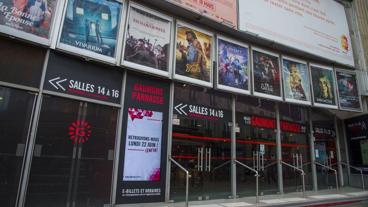 Fermées depuis mi-mars en raison de la crise sanitaire mondiale, les salles de cinéma rouvriront le 22juin.