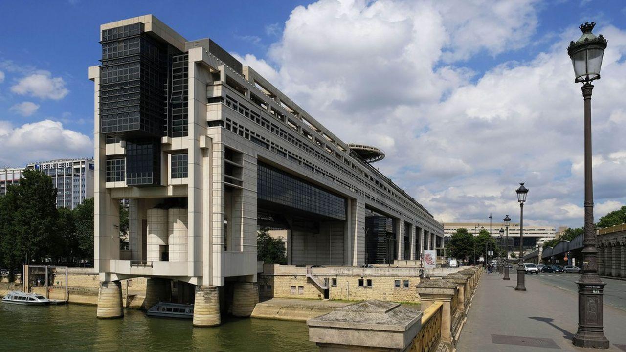 Le ministère de l'Economie et des Finances, à Paris, dans le quartier de Bercy.