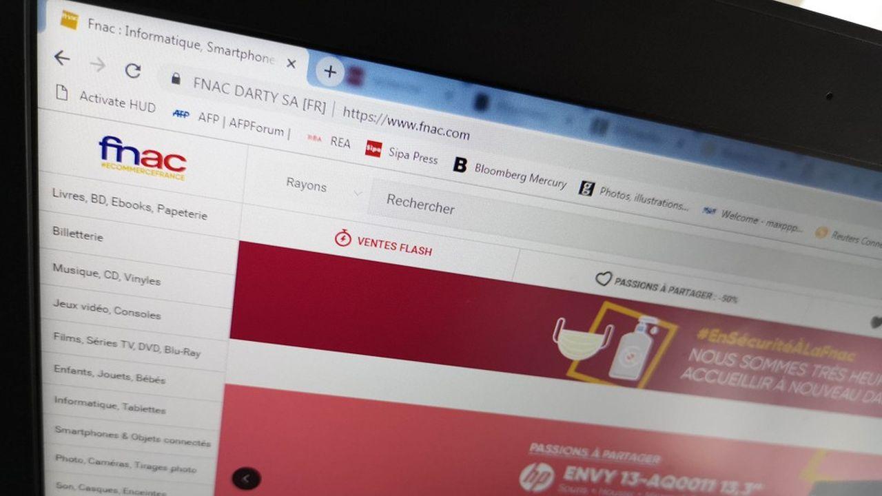 Le groupe Fnac Darty a gagné un million de nouveaux clients en ligne pendant la crise.