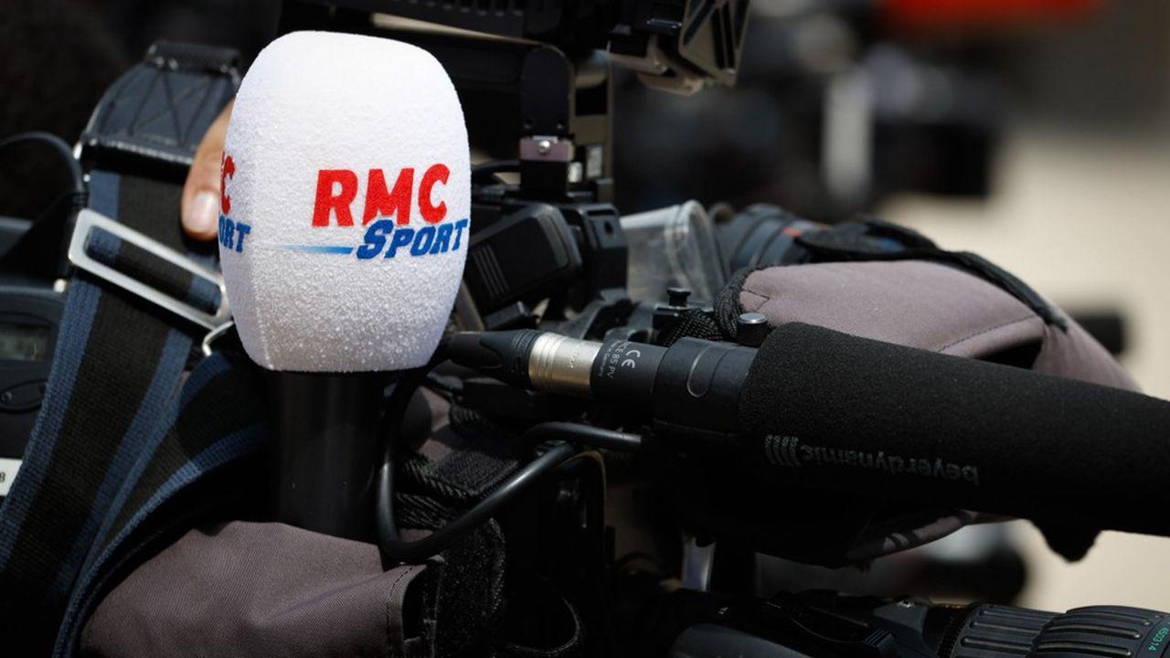 La chaîne de télévision RMC Sport est particulièrement touchée par les départs.