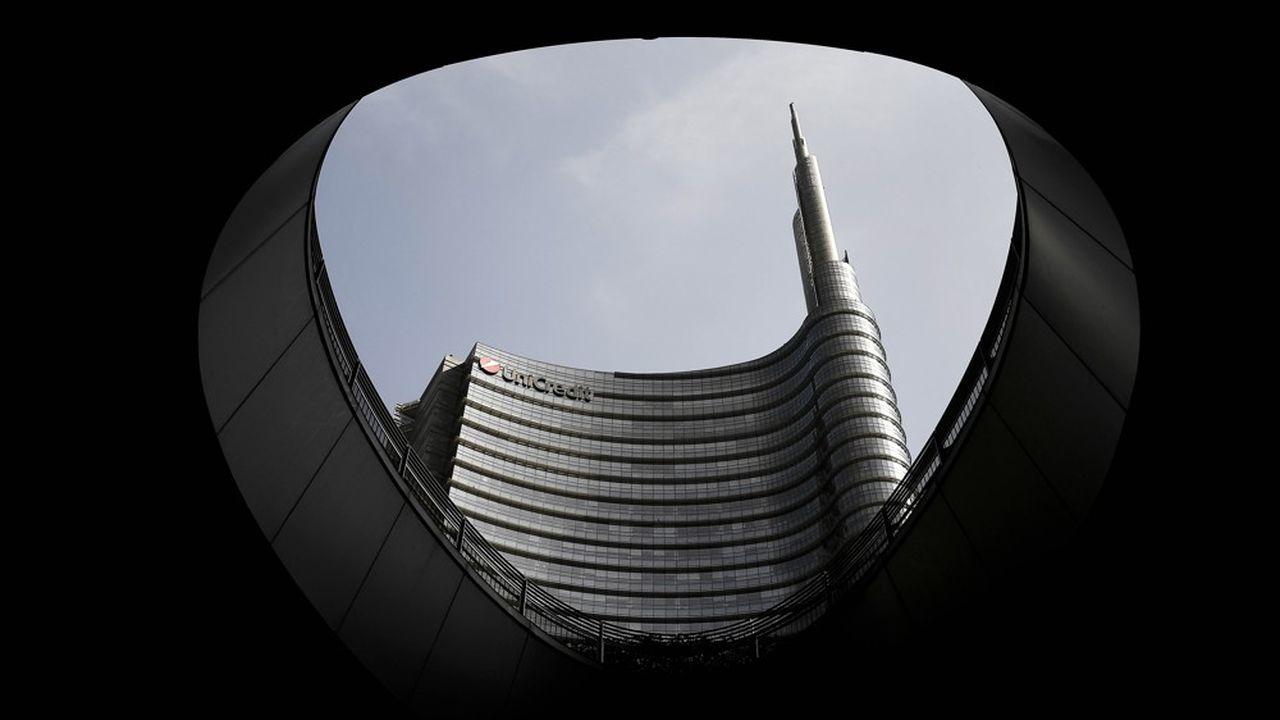 Les banques italiennes comme Unicredit font partie des principales clientes des prêts TLTRO de la BCE.