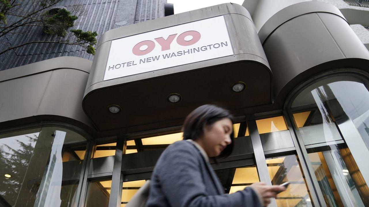 Un hôtel Oyo à Tokyo, au Japon.