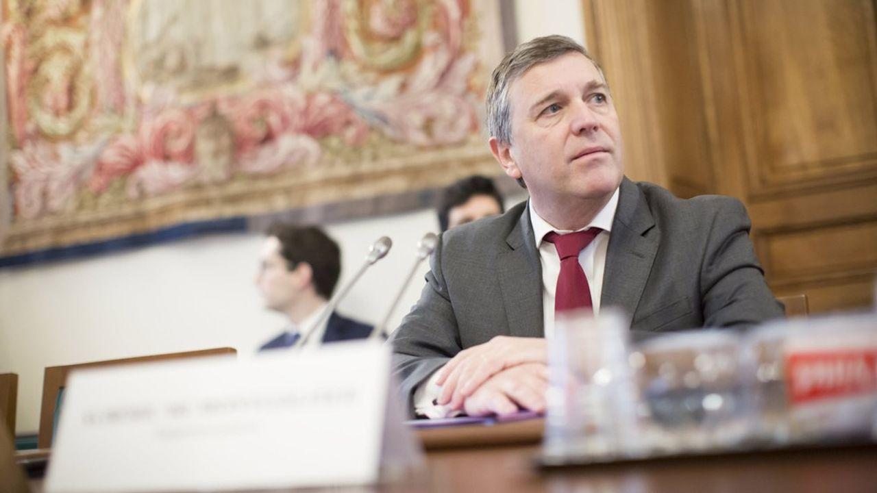 Albéric de Montgolfier, rapporteur du Budget au Sénat.