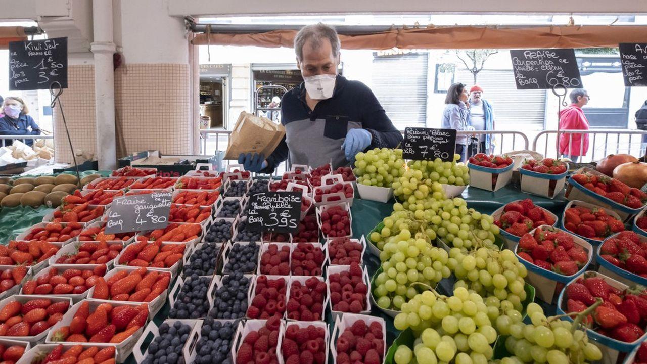 Le prix des produits frais s'est envolé, en avril, de 18 % sur un an