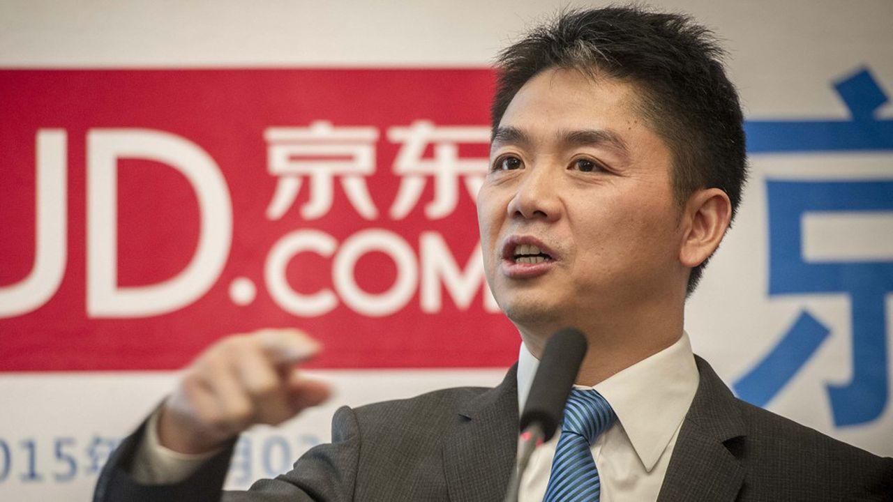 Richard Liu, le patron de JD.com, a fait ses premiers pas dans l'e-commerce en 2004.