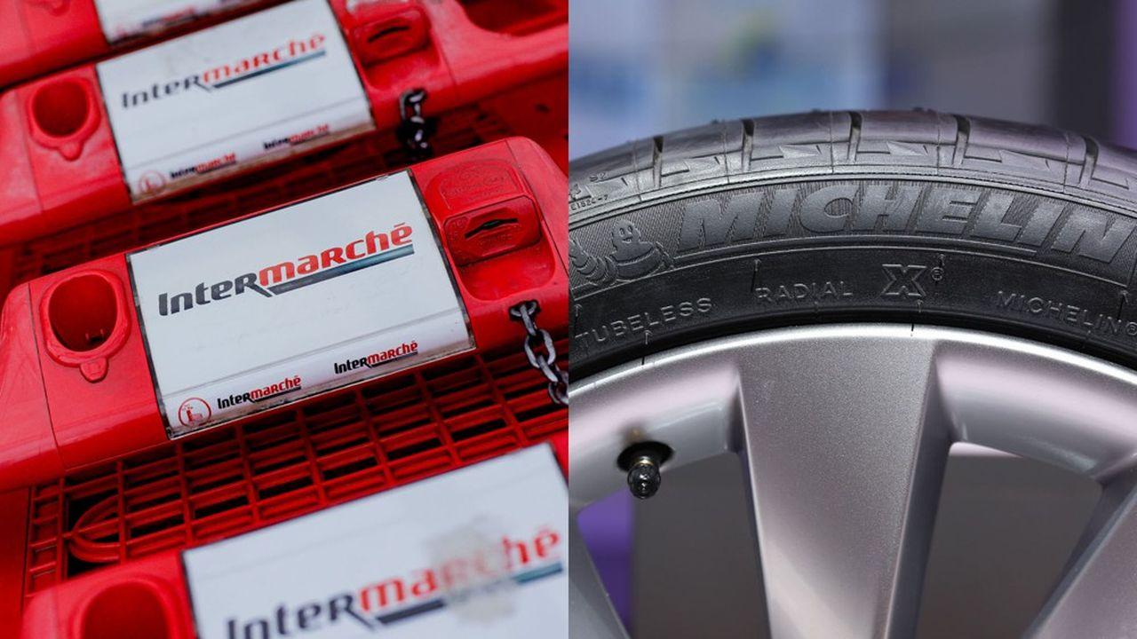 Intermarché rejoint Michelin à la première place du baromètre Posternak-Ifop.