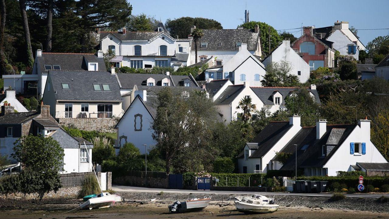 Immobilier: les villes les plus cotées en Bretagne. Ici, port de l'Ile-aux-Moines.