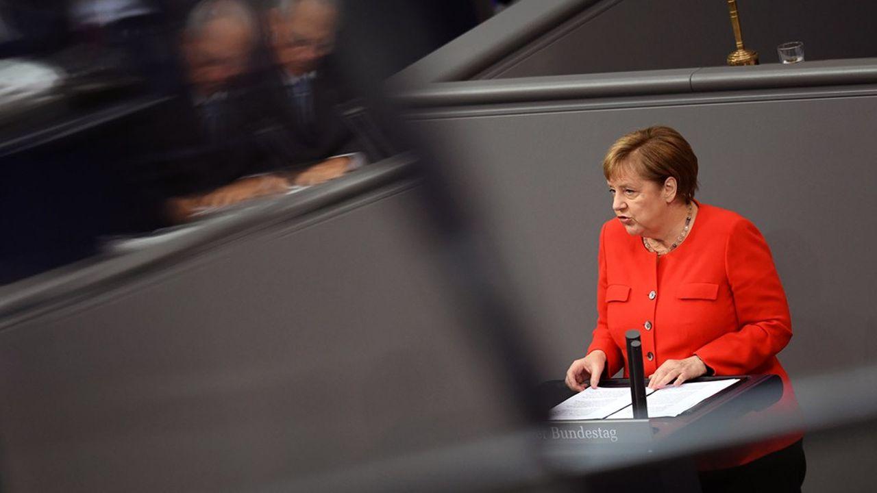 « L'Europe a besoin de nous autant que nous avons besoin de l'Europe », a martelé Angela Merkel devant les députés du Bundestag jeudi.