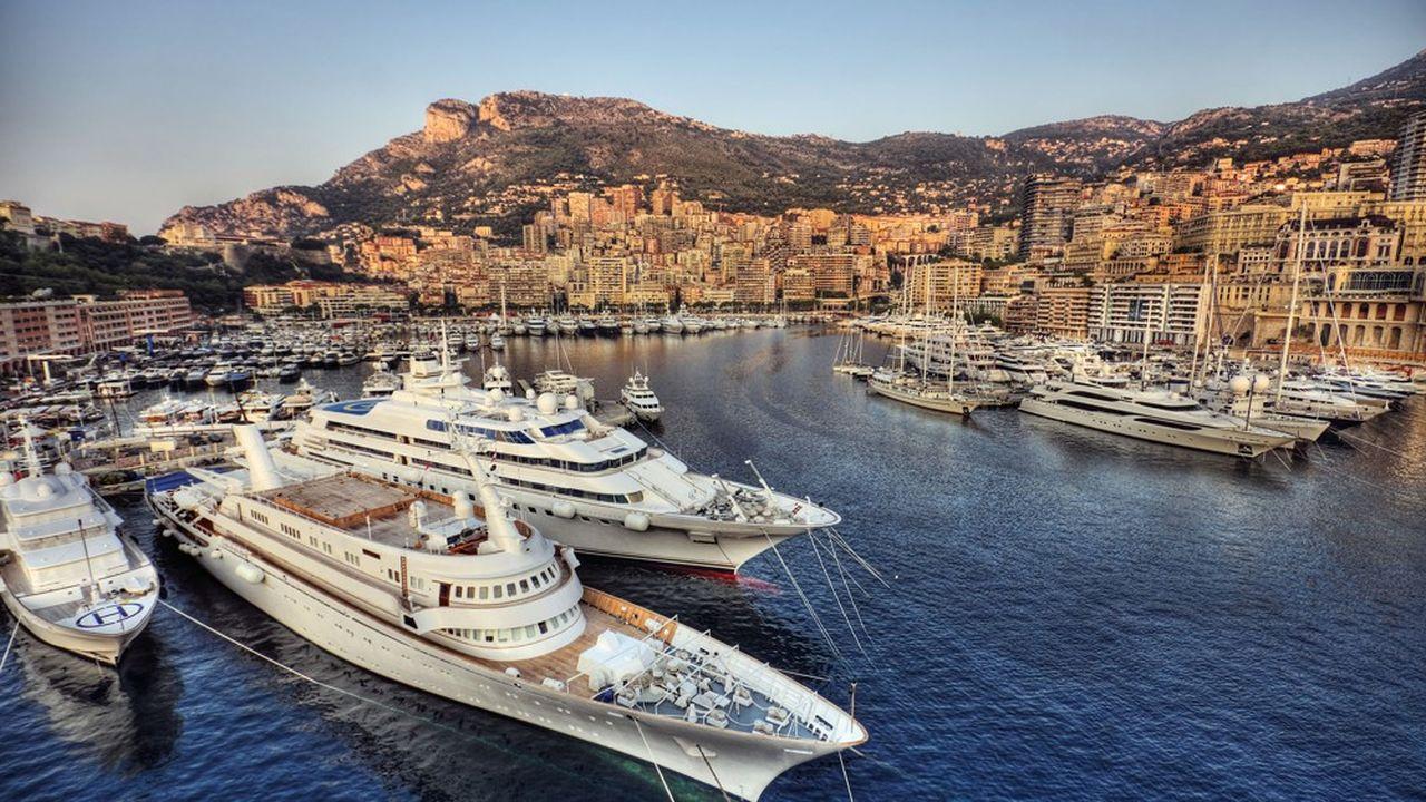 Le port de Monte-Carlo