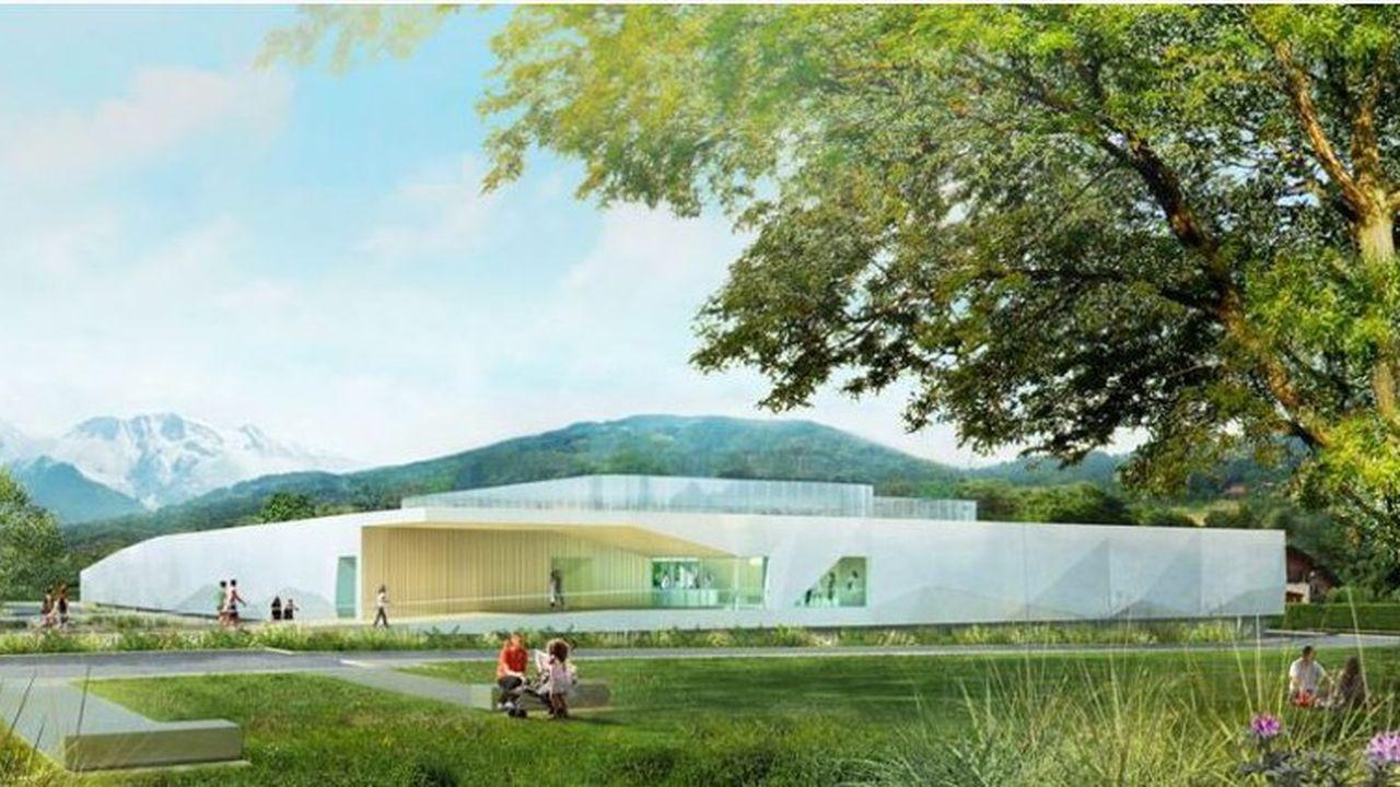 Le centre aquatique fera 3.000 mètres carrés.