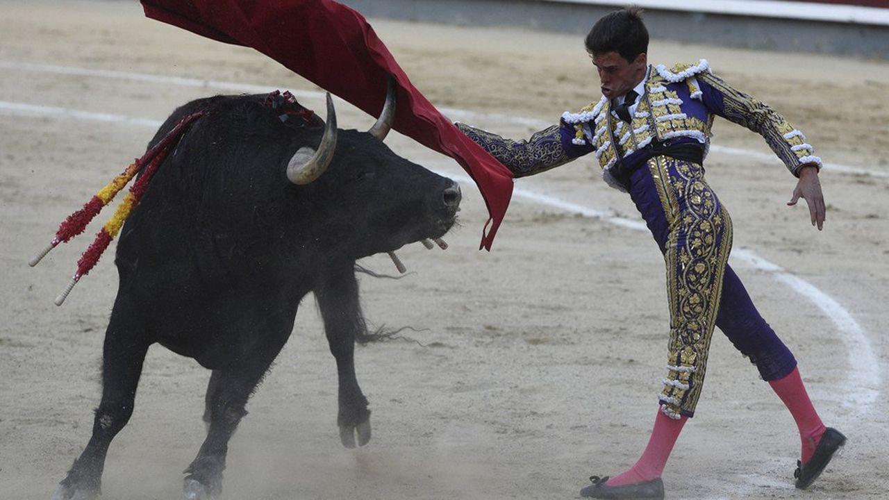 Le matador espagnol David Galván à Madrid, lors de la fête de San Isidro, le 16mai 2019.