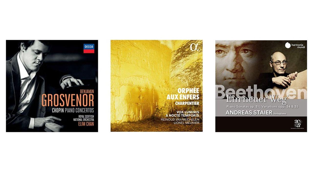 Chopin, Offenbach, Mahler: les disques classiques du week-end