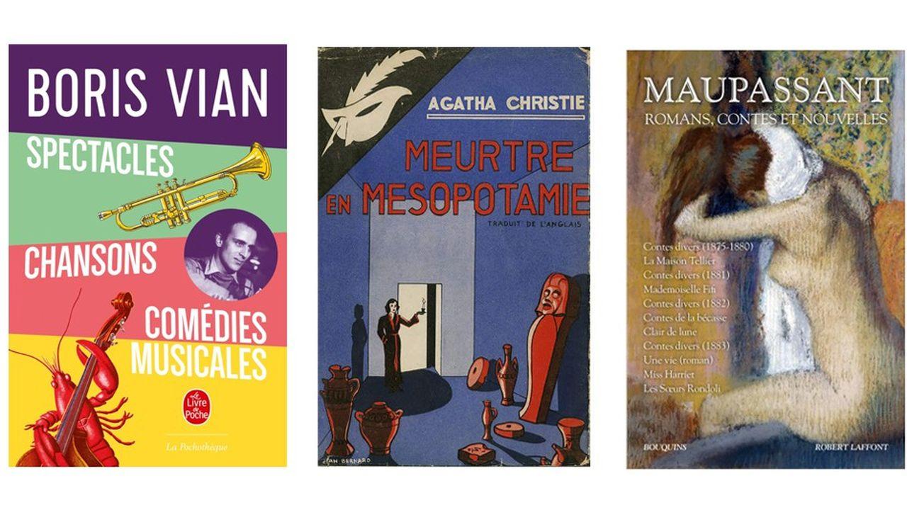 De Boris Vian à Agatha Christie, 6 auteurs classiques à redécouvrir
