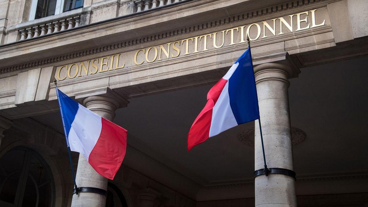 Le siège du Conseil constitutionnel, à Paris.