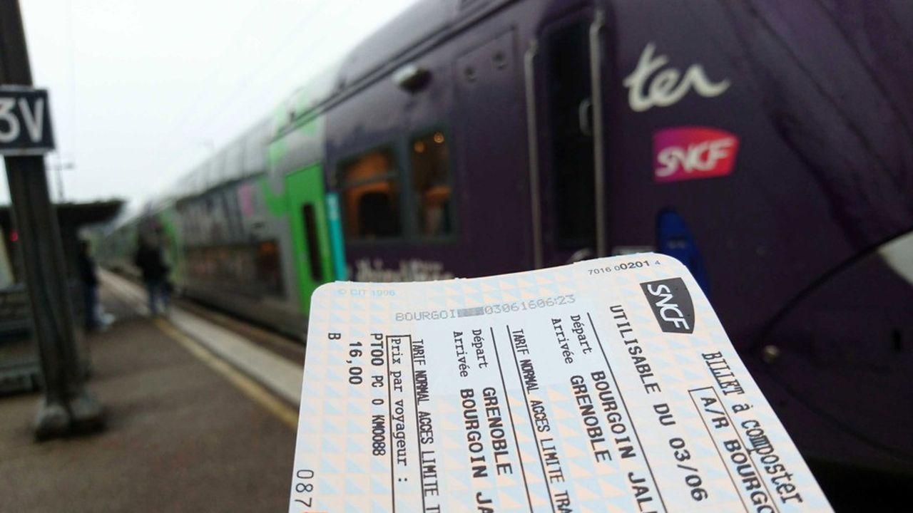 Pour développer l'usage du train, la Convention citoyenne pour le climat propose d'abaisser de 10 à 5,5% le taux de TVA sur les titres de transport.