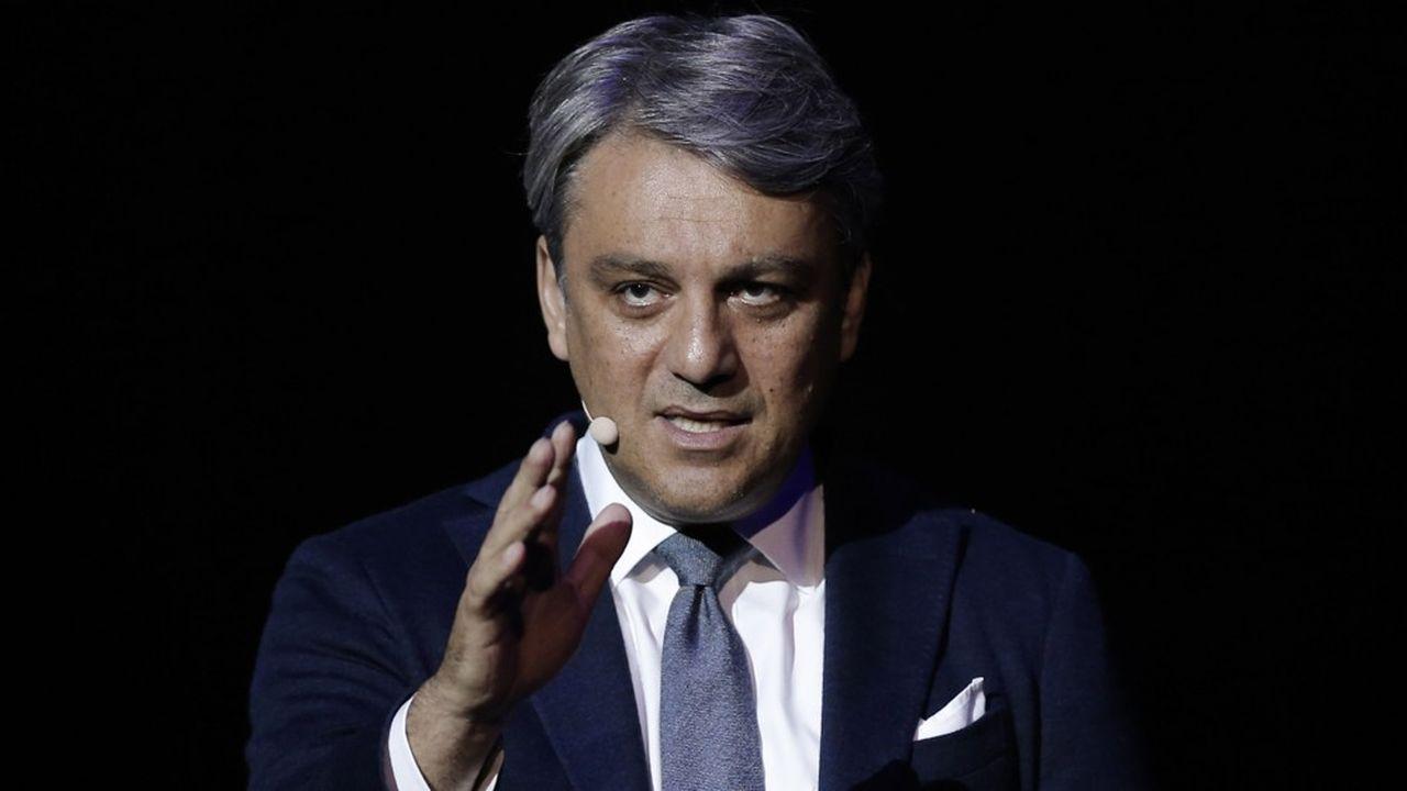 Luca de Meo a été nommé à la direction générale de Renault fin janvier2020.
