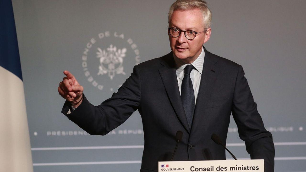 «Il y a beaucoup de solutions qui sont sur la table pour éviter ces faillites en cascade», selon le ministre des Finances Bruno Le Maire.