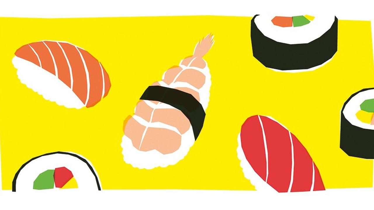 Poisson : l'appel du sushi