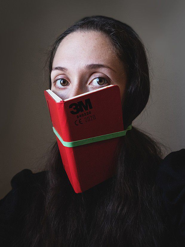 Autoportrait d'Andreana Ferri.