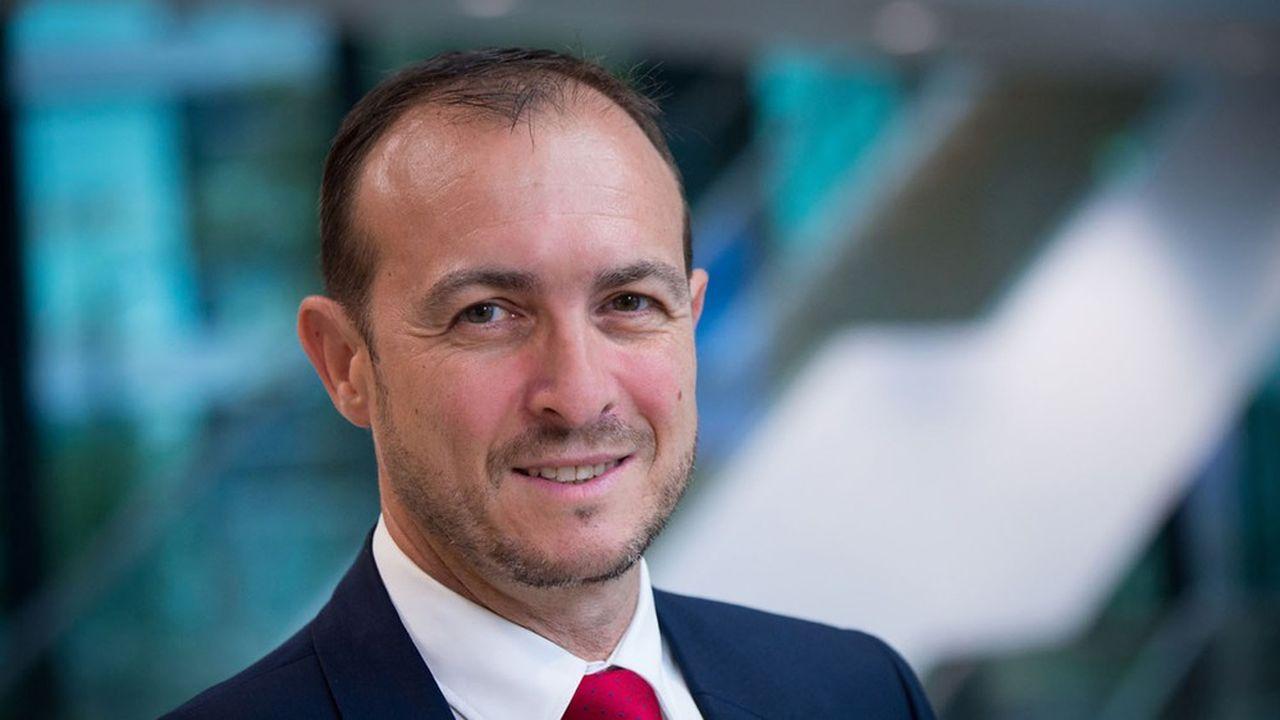 Pascal Andréi, directeur de la sécurité d'Airbus.