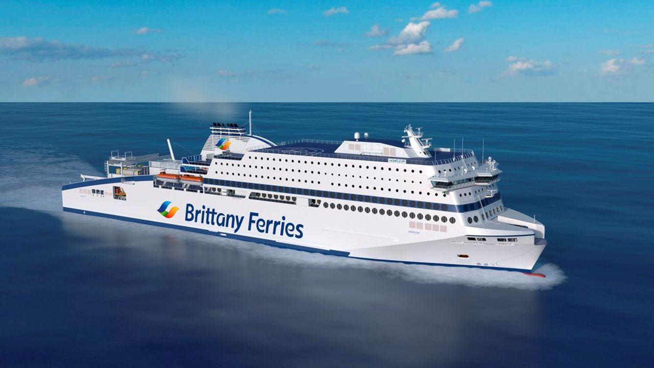Le Honfleur aurait été le premier ferry propulsé au GNL de la flotte de Britanny Ferries et devait naviguer entre Ouistreham (Caen) et Portsmouth.