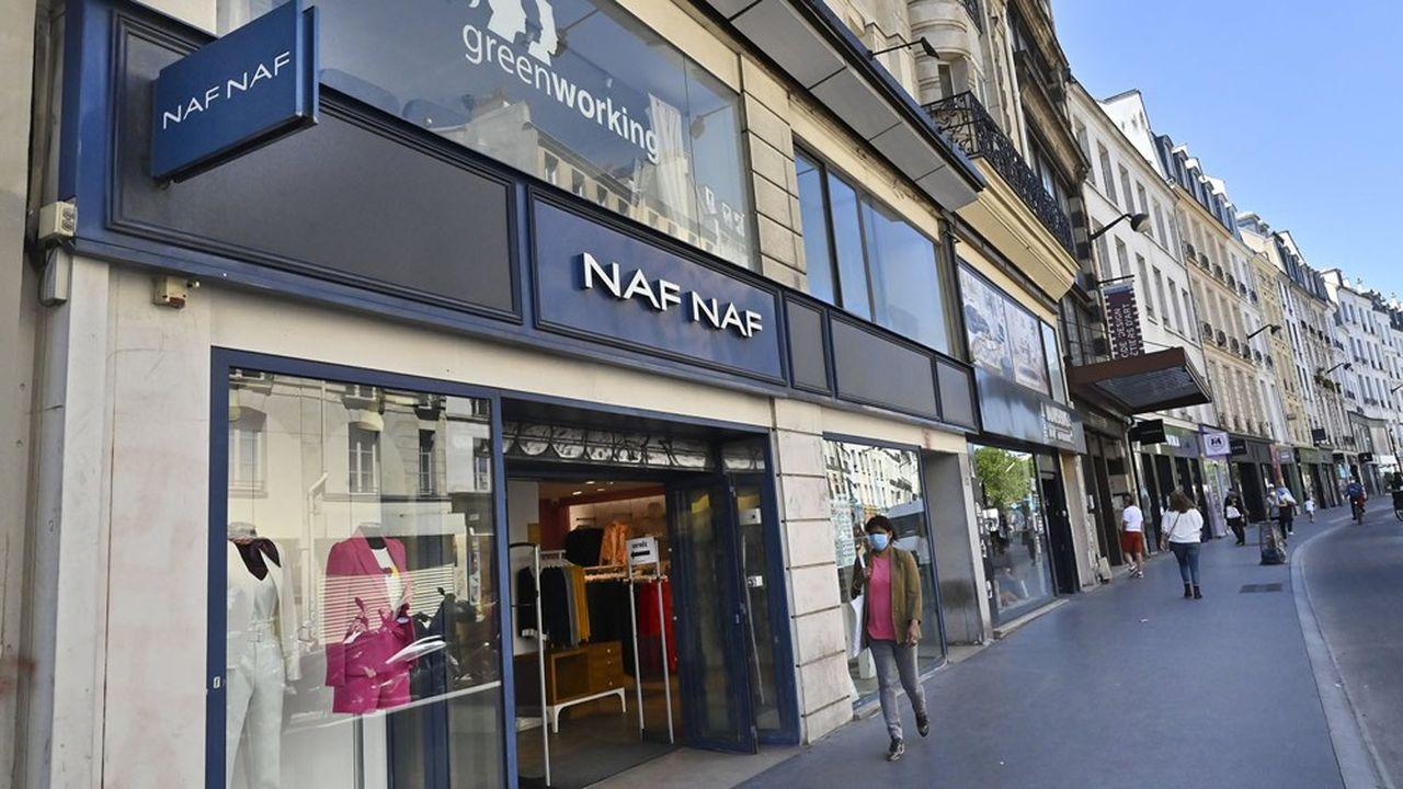 Naf Naf avait été placé en redressement judiciaire.