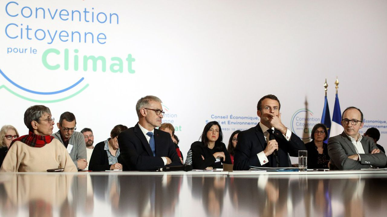 Le 10janvier dernier, le président de la République, Emmanuel Macron, a participé à la Convention citoyenne pour le climat.