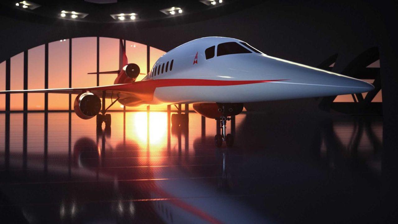 Le projet Aerion S2, dont voici une «vue d'artiste» est censé voler en 2025.