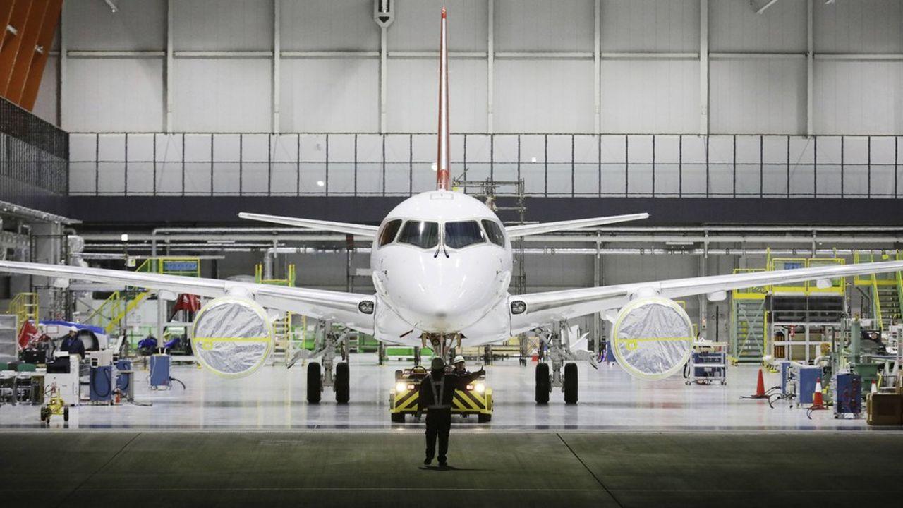 Après plus de treize années de développement et près de 7milliards de dollars engloutis, le projet porté par Mitsubishi Aircraft, une filiale de Mitsubishi Heavy Industries (MHI), est toujours dans l'impasse.