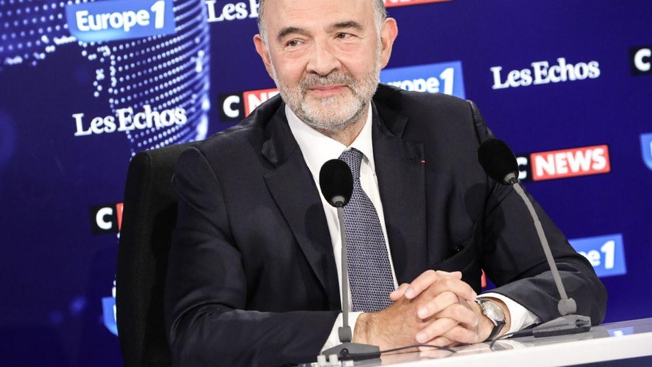« Je ne crois pas à la dette perpétuelle », a déclaré Pierre Moscovici.
