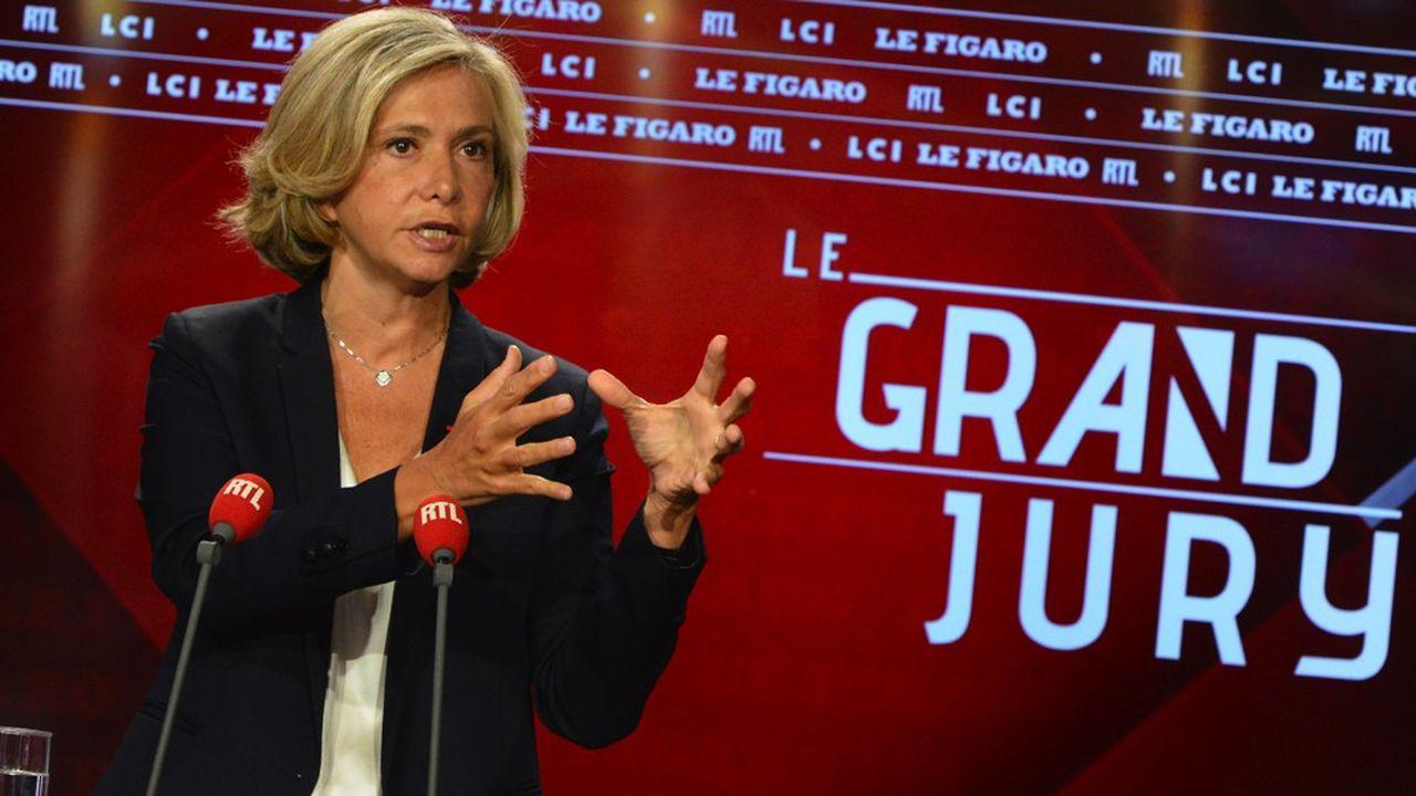 Présidente d'Île-de-France Mobilités, Valérie Pécresse a aussi évoqué une augmentation du Pass Navigo de 20euros.