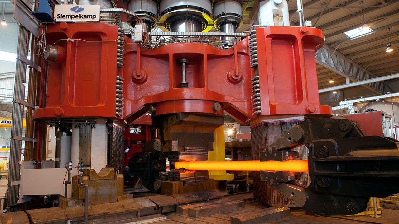 Unité de production à Saint-Georges-de-Mons destinée à la fabrication de pièces de précision pour l'industrie aéronautique.