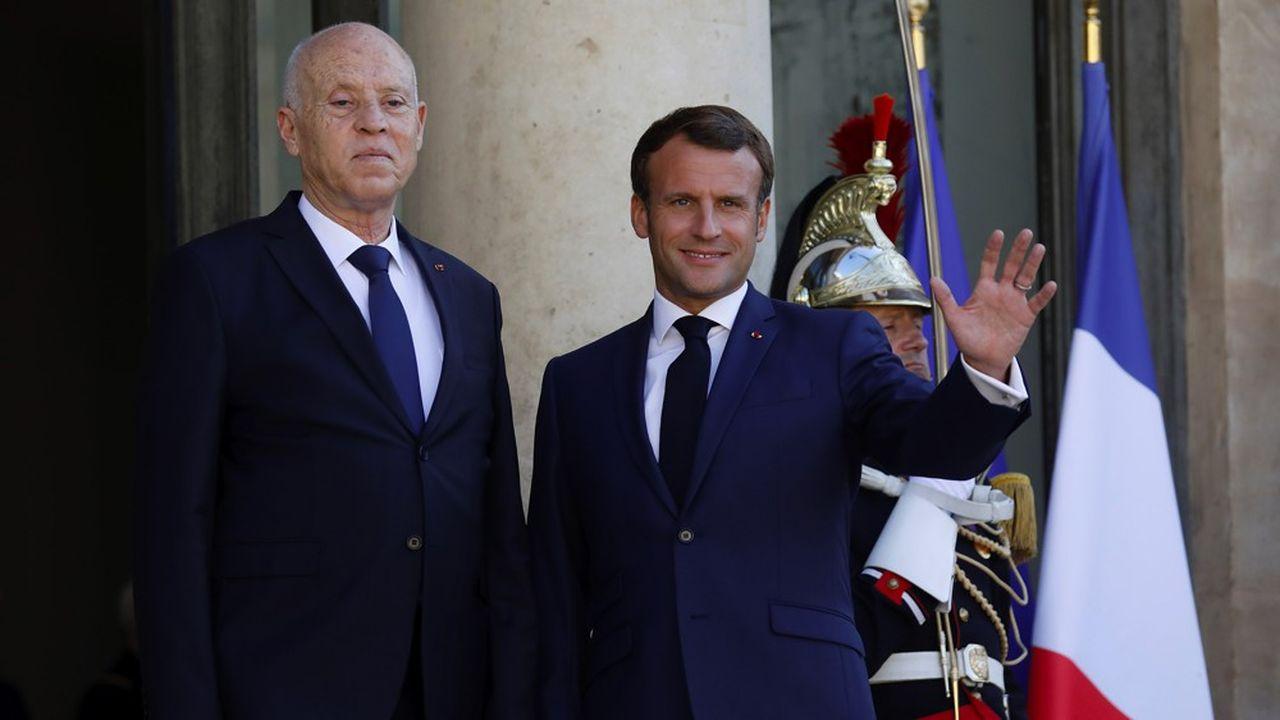 Le nouveau président de la Tunisie, Kais Saied a choisi Paris pour son deuxième voyage officiel après s'être rendu à Alger en février, juste avant l'épidémie de Covid-19.
