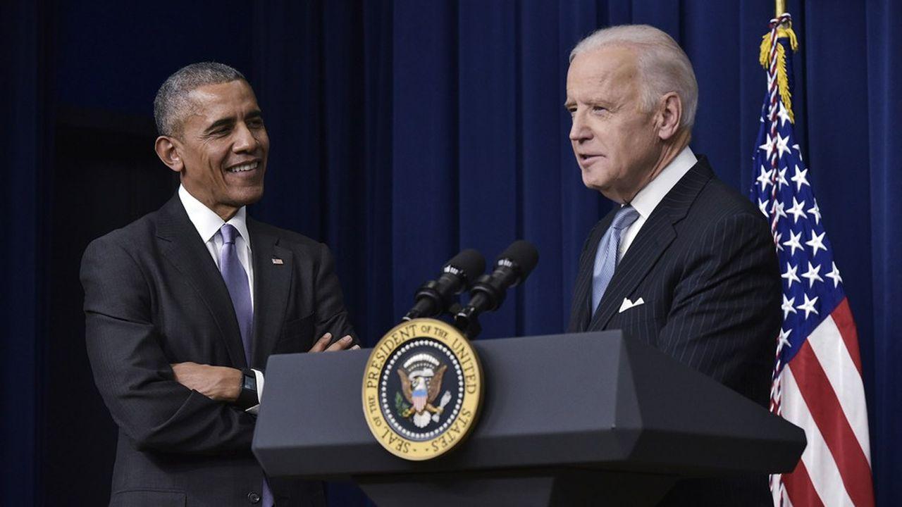 Barack Obama (ici en 2016) s'investit dans la campagne de son ancien vice-président Joe Biden.