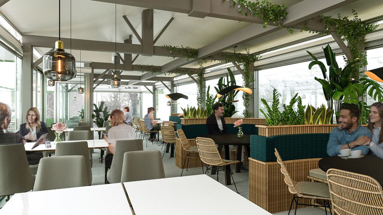 Le tout nouveau restaurant du musée Rodin, confié à Sodexo Sports et Loisirs pour cinq ans.