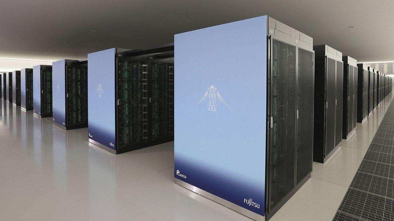 L'ordinateur Fugaku, conçu avec Fujitsu et des composants du groupe Arm (propriété de SoftBank), dispose d'une puissance de calcul 2,8 fois supérieure à celle du supercalculateur IBM Summit.