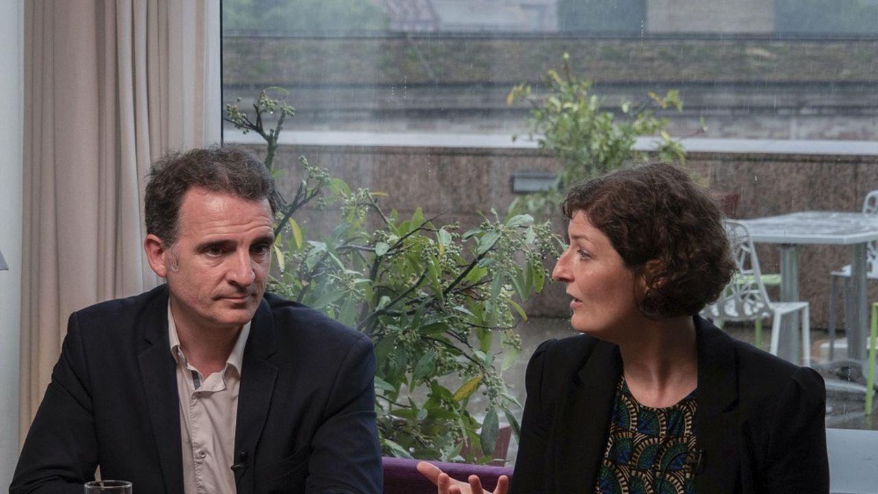 Eric Piolle s'est rendu à Strasbourg le 17juin pour soutenir Jeanne Barseghian, arrivée en tête du premier tour des élections municipales à Strasbourg.