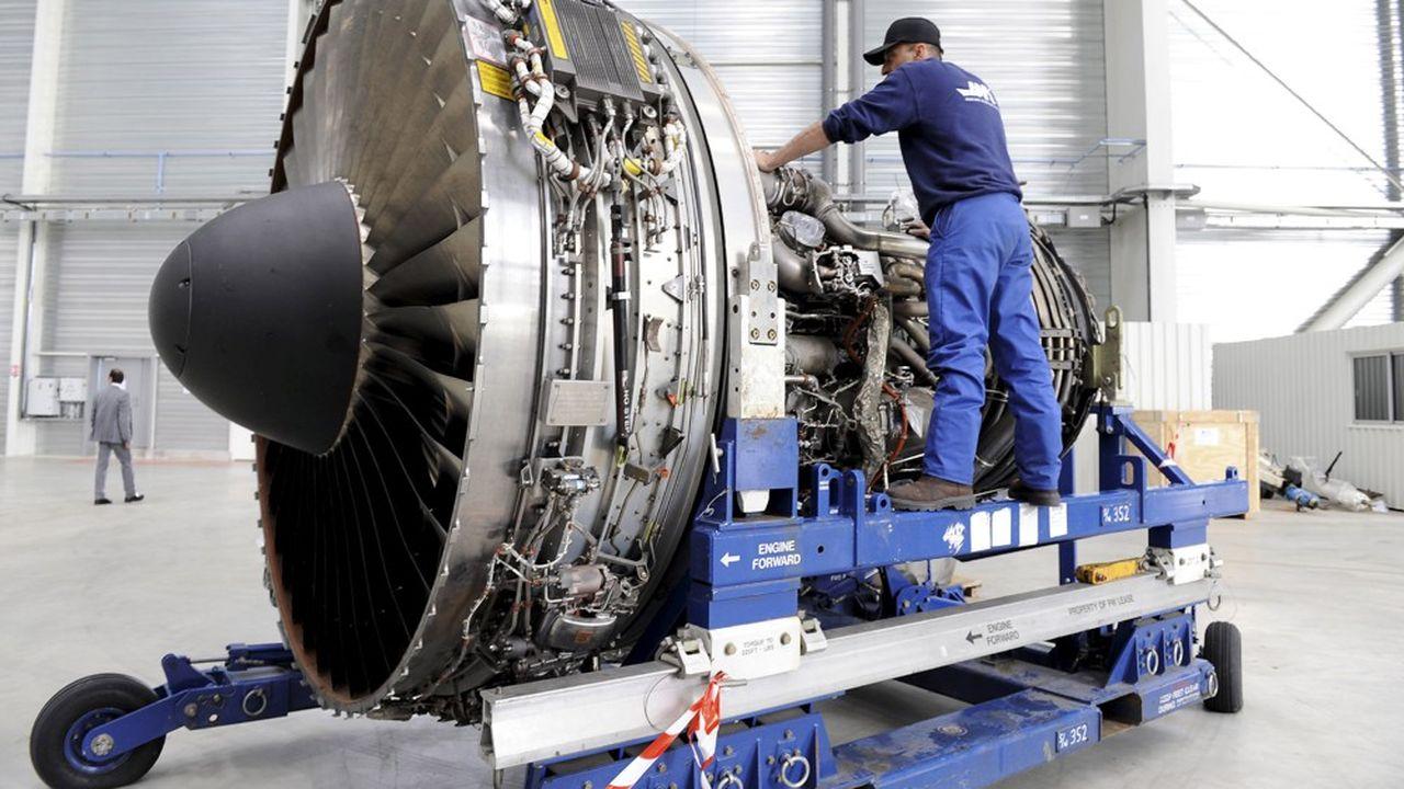Le moteur Pratt & Whitney équipe plus de 40 % des A320neo d'Airbus.