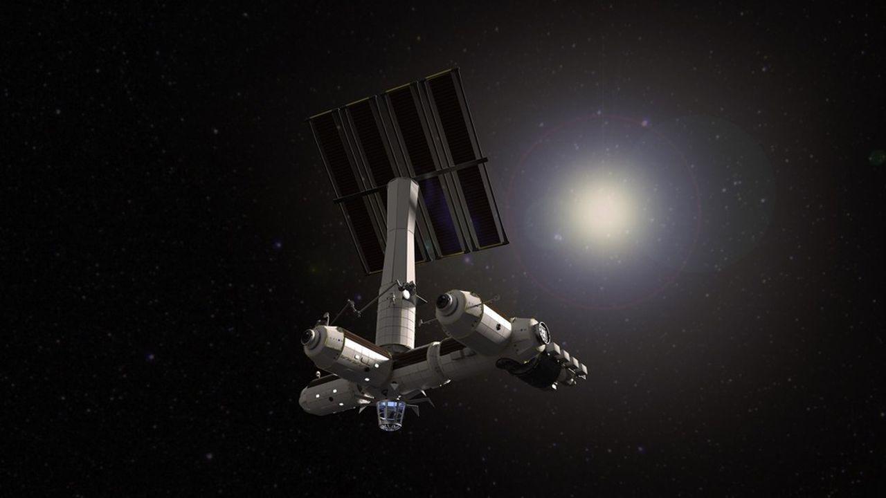 Axiom Space veut arrimer un module commercial à la Station spatiale internationale en 2024. La start-up américaine a été fondée par les ex-directeurs des programmes de l'ISS de la Nasa.
