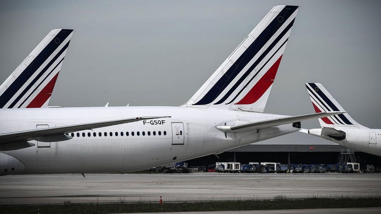 Le prêt garanti de 4milliards d'euros à Air France a donné lieu à un véritable bras de fer entre les banques et l'Etat.