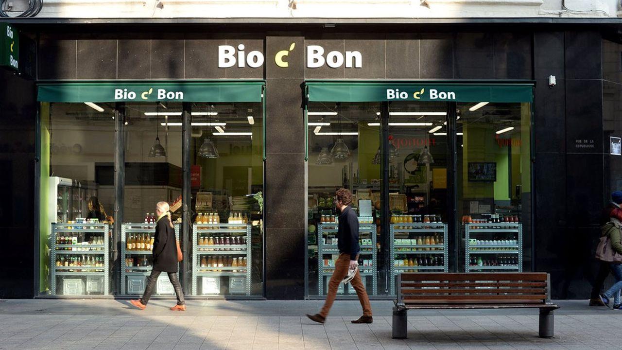 Bio C Bon est la troisième chaîne spécialisée en bio derrière Biocoop et Naturalia.