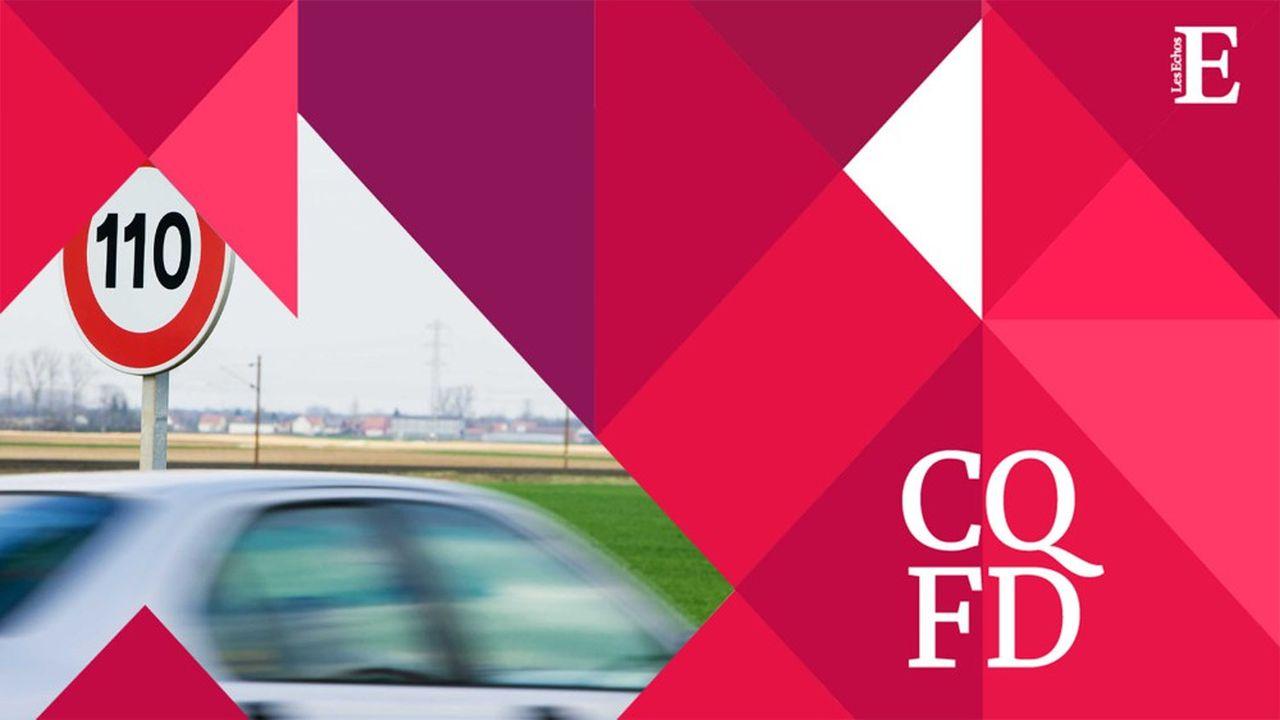 Limiter la vitesse à 110km/h sur l'autoroute permettrait de réduire en moyenne de 20% les émissions de gaz à effet de serre sur les routes.
