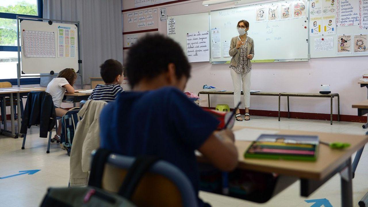 A Paris, 83% des écoliers et plus de 80% des collégiens ont répondu à l'appel.