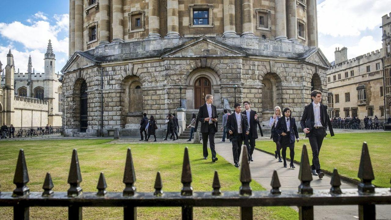 La célèbre Radcliffe Camera, qui abrite une bibliothèque sur le campus d'Oxford.