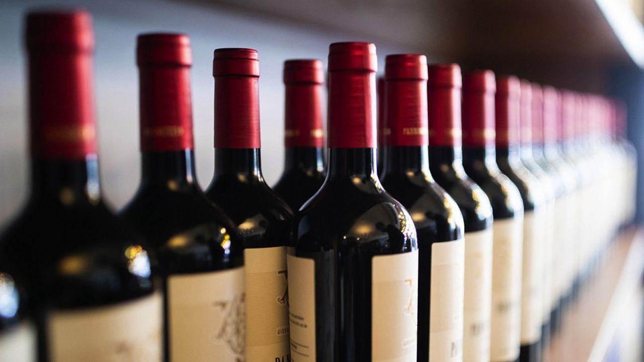 Les vins français étaient concernés par la première vague de sanctions.