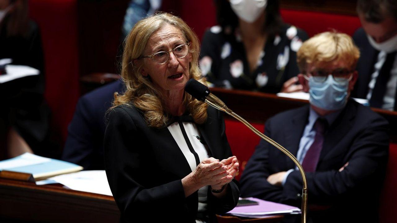 La ministre de la Justice, Nicole Belloubet.