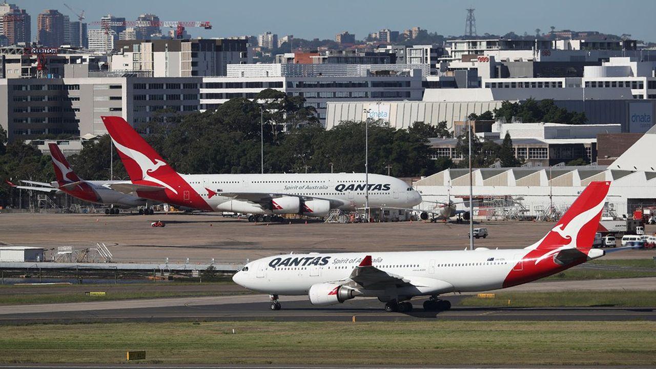 Les suppressions d'emploi vont concerner Qantas et sa filiale «low cost» Jetstar.