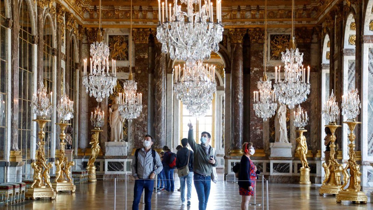 Paris et l'Ile-de-France, comme Versailles et son château, attirent les Européens et encore plus les futurs voyageurs partant des Etats-Unis et de Chine.